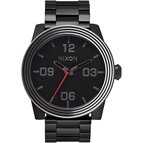Reloj Nixon Star Wars Corporal SS A346SW2444 Hombre Negro Acero IP Negro: Amazon.es: Relojes