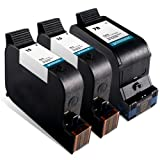 Printronic Remanufactured Ink Cartridge Replacement for HP 15 HP 78 (2 Black, 1 Color)