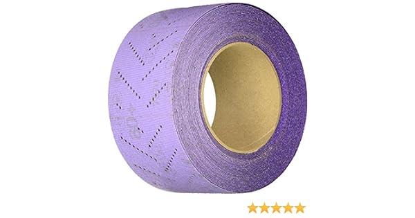 34444,120+, 70 mm x 12 m, 1 rool per case Cubitron II 34444 Hookit Clean Sanding Sheet Roll