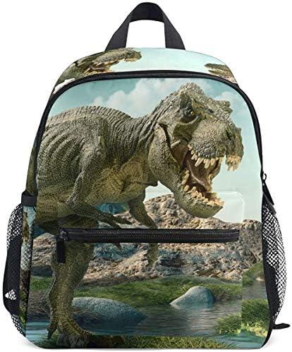 リュック キッズ 恐竜柄 森 森林 女の子 おしゃれ リュックサック 可愛い 男の子 幼稚園 遠足 アウトドア 軽量 防水 子供用