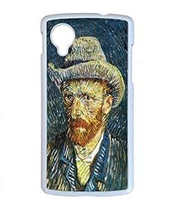 Vincent Van Gogh Design PC White Case for Google Nexus 5 Awesome