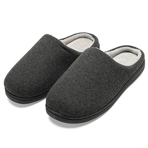 Zapatillas de casa de Hombre, Ultraligero cómodo y Antideslizante, Zapatilla de Estar por casa para Hombre