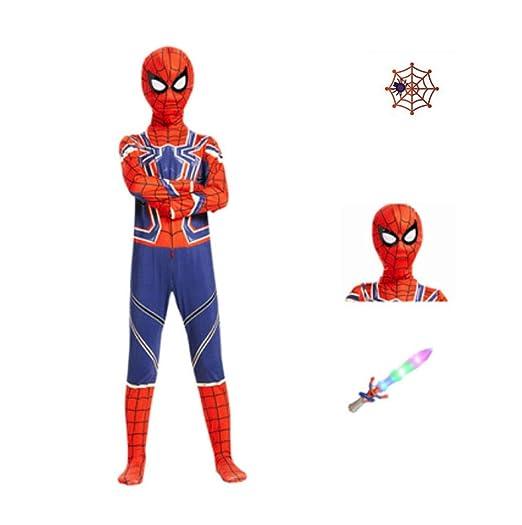 Traje Spiderman Traje De Cosplay De Spider-Man Vengadores De ...