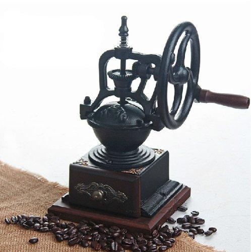Taiwan imported be8701-1 hand-cranked grinder grinding machine coffee grinder Vintage by TELAM