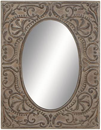 Deco 79 69171 Flawless Metal Mirror for Full