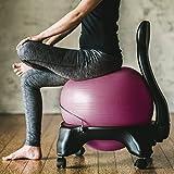 Gaiam Classic Balance Ball Chair – Exercise