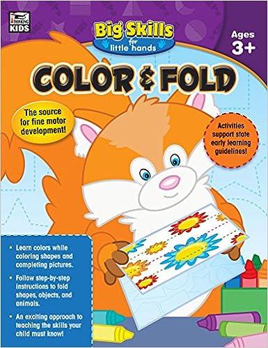 Color & Fold, Grades Preschool - K: Thinking Kids, Carson ...