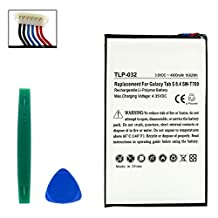 Samsung Galaxy Tab S 8.4 WiFi Tablet Battery (LI-POL 3.8V 4900mAh) - Replacement For Samsung EB-BT705 EB-BT705FBE Tablet Battey - Installation Tools Included