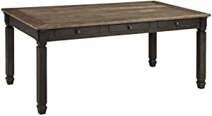 Ashley Furniture Signature Design - Tyler Creek Dining Room Table - Black/Gray