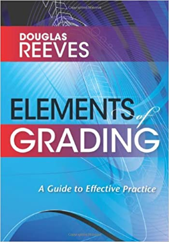 elements of grading book solution tree 9781935542124 amazon com