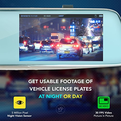 """HD Front and Rear Dash Camera 
