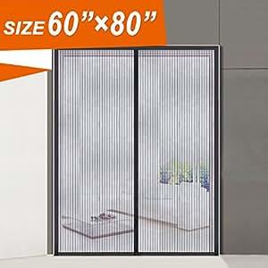 Magnetic Screen Door Wide Mega Mesh 60 X 80 Fit Doors
