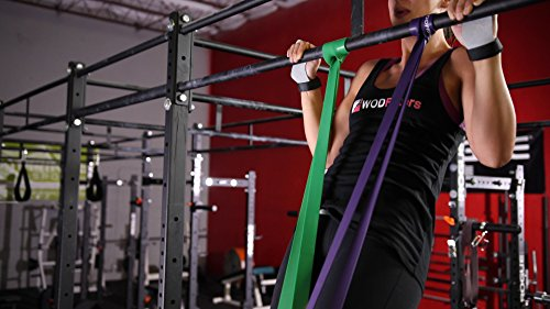 WODFitters Resistance bands Green - Single Band Assisted Pull-up Resistance Band Cross Fitness Training Power-lifting by WODFitters (Image #7)