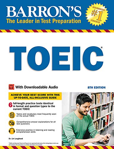 Barron's TOEIC, 8th Edition: With Downloadable Audio
