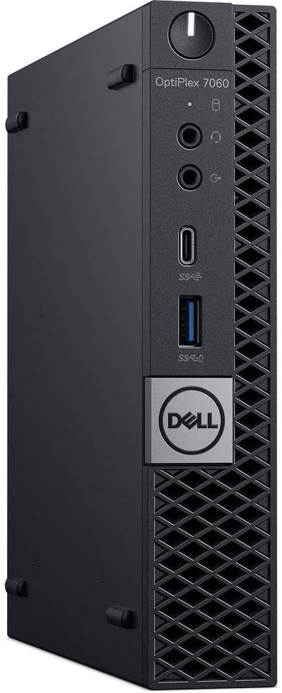 Dell OptiPlex 7060 Micro Form Factor Desktop Computer Intel Core 8th Gen i7-8700T 2.40GHz 6-Core CPU 32GB DDR4-2666MHz Memory 1TB NVMe PCIe SSD Windows 10 Pro