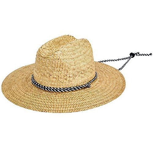 San Diego Hat Company Men's RSM586LXNAT, Natural, (Lifeguard White Hat)