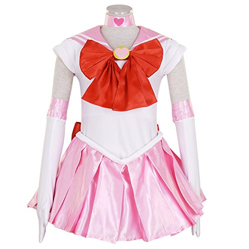 Chibiusa Sailor Moon Costume (CG Costume Women's Sailor Moon Sailor Chibi Moon Chibiusa Cosplay Costume XSmall)