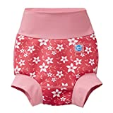 Splash About New and Improved Happy Nappy Swim Diaper (6-12 Months, Pink Blossom)