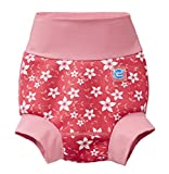 Splash About Kids New Improved Happy Nappy, Pink Blossom, 0-3 Months