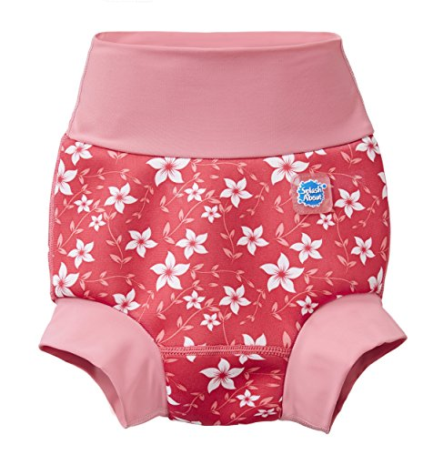 Splash About New and Improved Happy Nappy (Pink Blossom, 2-3 Years)