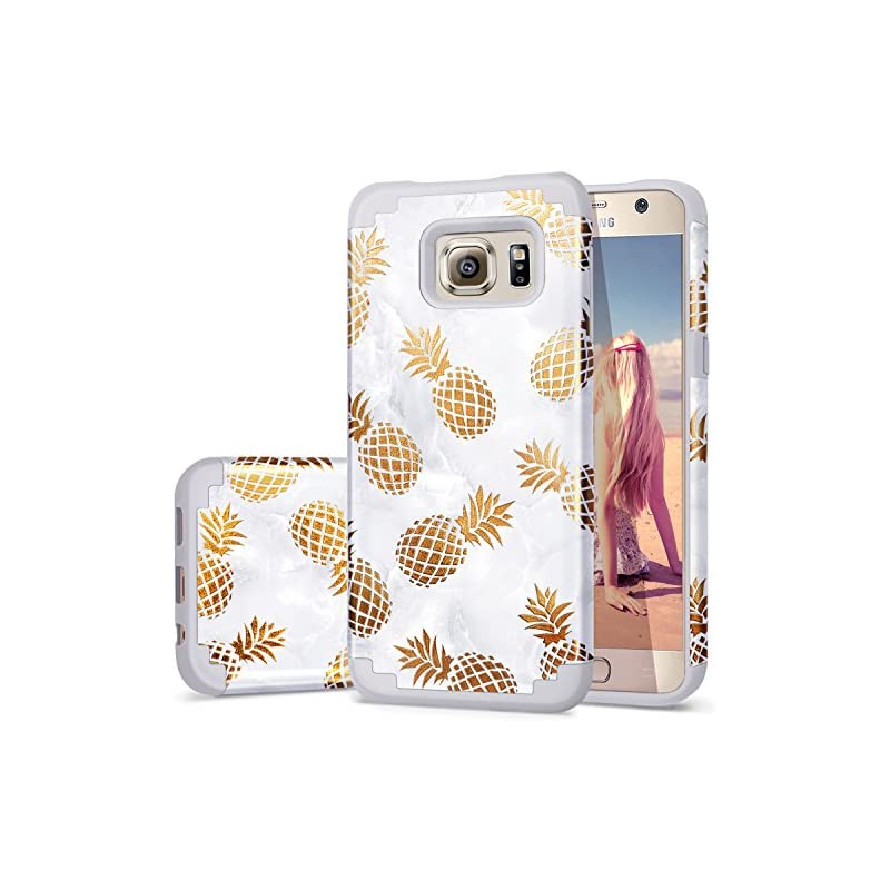 S6 Case Pineapple,Case for Galaxy S6,Fin