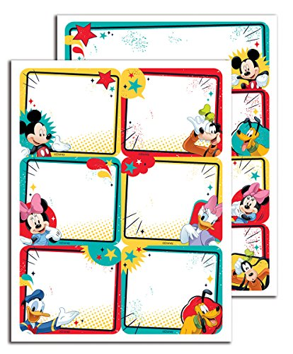 Eureka Mickey Stickers Label 656140