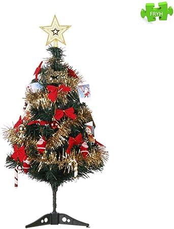 FRYH El Mini árbol De Navidad Artificial Hogar U Oficina Es La Mejor Opción para La Mesa Y La Mesa De Comedor: Amazon.es: Hogar