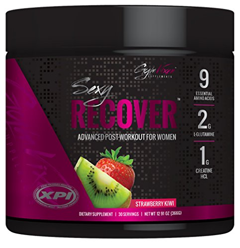 Gym Vixen Sexy Recover Strawberry Kiwi (30 Servings) - Advanced Post Workout For Women