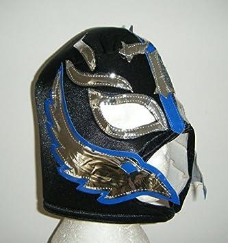 SOPHZZZZ TOY SHOP Rey Mysterio Adulto Máscara de Lucha Libre WWE para Hombre Despedida Soltero Fiesta