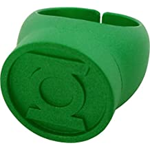 Blackest Night Green Lantern Ring Authentic DC Comics Plastic by DC Comics TOY (English Manual)