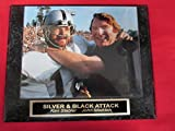 Ken Stabler John Madden Oakland Raiders Collector Plaque w/8x10 Photo