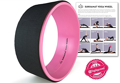 SukhaMat Yoga Wheel Prop - Strong / Sturdy Premium 12.5