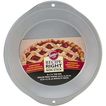 Wilton Recipe Right 9 Inch Pie Pan
