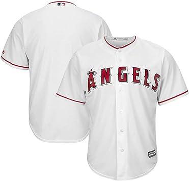 Weinina Camiseta de béisbol Personalizada para Hombre, con Botones, Nombre y número Personalizados, 2020 Camiseta básica para fanáticos Camiseta para jóvenes: Amazon.es: Jardín