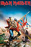 "Iron Maiden - Music Poster (Trooper) (Size: 24"" x 36"")"