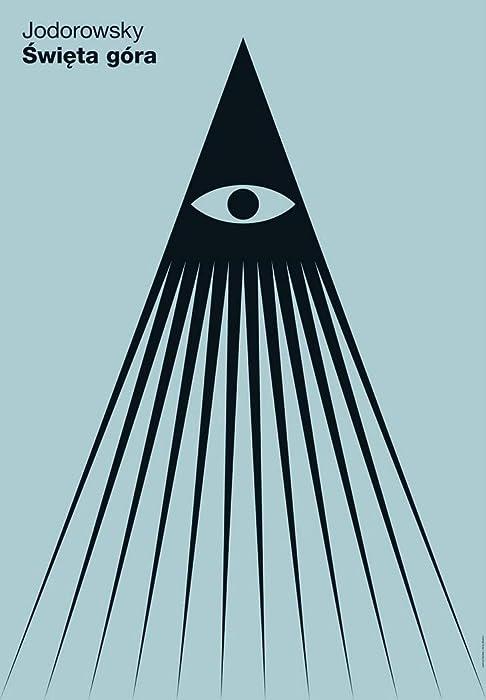 """The Holy Mountain (Alejandro Jodorowsky) 1973 Polish Movie Poster 24""""x36"""""""