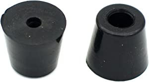 Round Rubber Feet with Steel Washer Inside Pack of 10 (D19x15xH17mm)