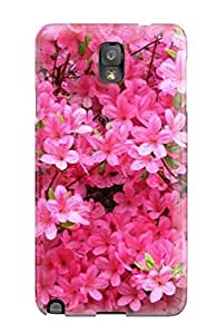 New Shockproof Protection Case Cover For Galaxy Note 3/ Pink Azalea Flowers Case Cover by icecream design