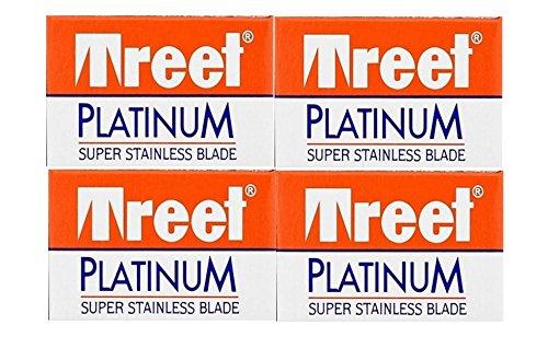 40 Treet Platinum Double Edge Razor Blades