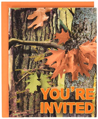 Creative Converting 895676 Hunting Camo Invitations, One Size, Multicolor]()
