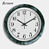 Best Creativity for Kids Alarm Clocks - BABYQUEEN Wall Clock Modern Minimalist Mute Fashionable Individual Review