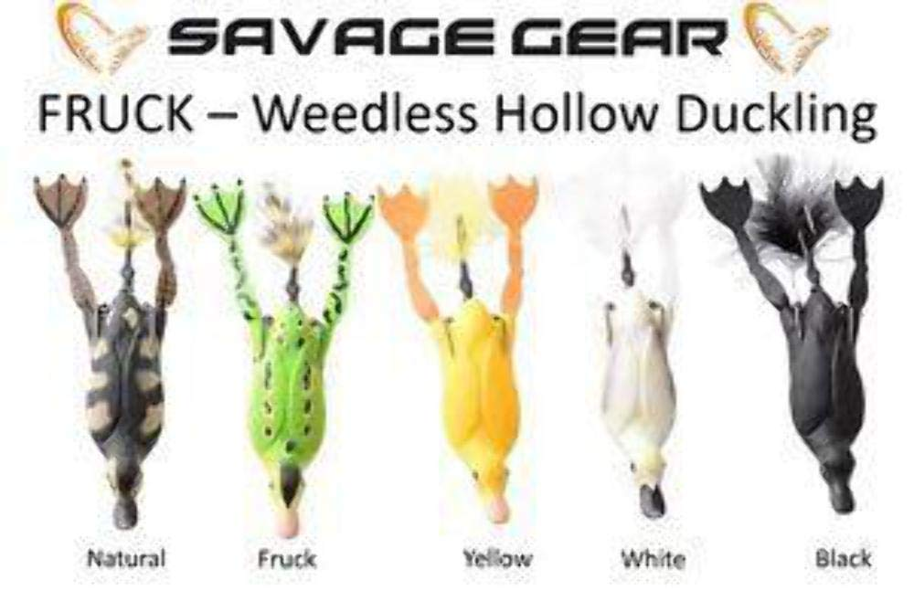 01 Naturel Savage Gear 3D Creuse Canards Sans tabac S 7.5cm 15g