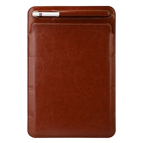 FuriGer 2018 iPad Case with Pencil Holder,Slim iPad 2017 Case with Pencil Holder PU Leather Case Ultra Lightweight Protective Cover with Stand Shell Case for iPad 9.7 inch 2018/2017 - Maroon by FuriGer