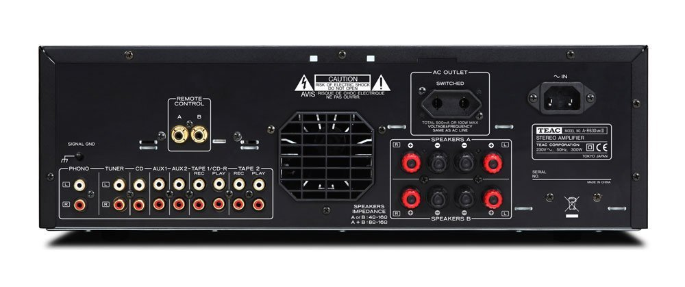 Teac A-R630B MK2 - Amplificador, Negro