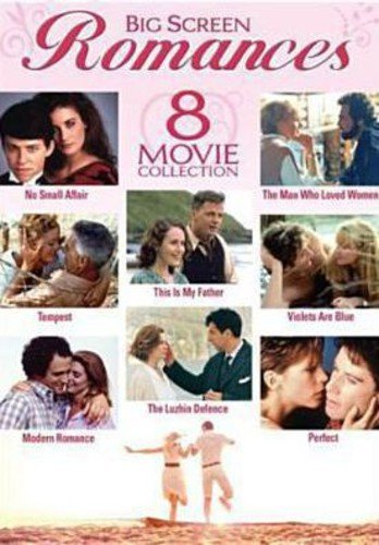 Big Screen Romances - 8-Movie Set - No Small Affair - The Man Who Loved Women - Tempest - This is My Father - Violets Are Blue - Modern Romance - Dvd Romance Movies