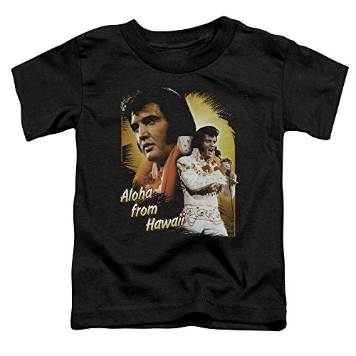 Sons of Gotham Elvis Presley Aloha Toddler T-shirt 4t