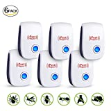 SHENGMI 2018 New BEST Ultrasonic Pest Control Repeller Electronic Pest Repeller, Plug In Insect Repellent - Repel Mouse, Bed Bugs, Roaches, Ants, Spiders - Non-toxic, Human & Pet Safe