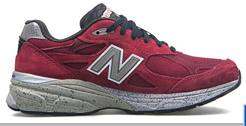 New Balance M990 Version 3 Men's Running Shoe, Size: 8.5 Width: 2E Color: Burgundy