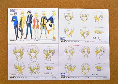 TSUKIUTA. The Animation Settei Sheets/Model Sheets 【46pages】 Japan Import