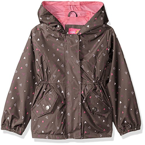 LOSORN ZPY Kid Toddler Girls Raincoat Stars Poncho Waterproof Hooded Rainwear